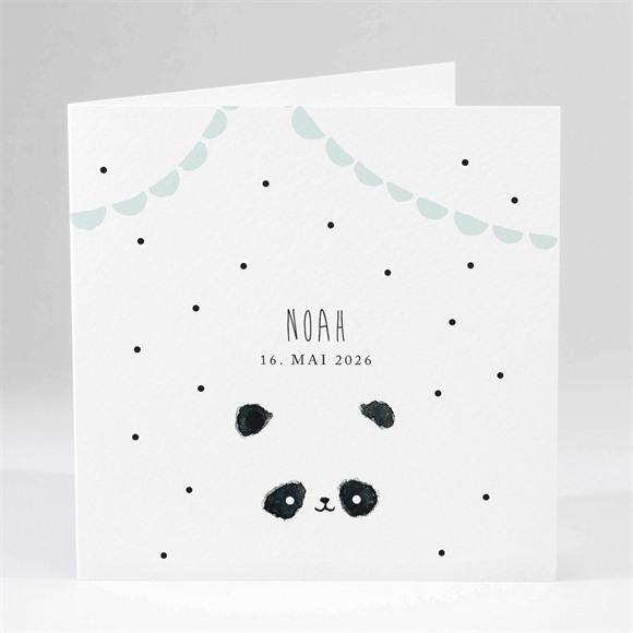Geburtskarte Mein kleiner Panda réf.N451100
