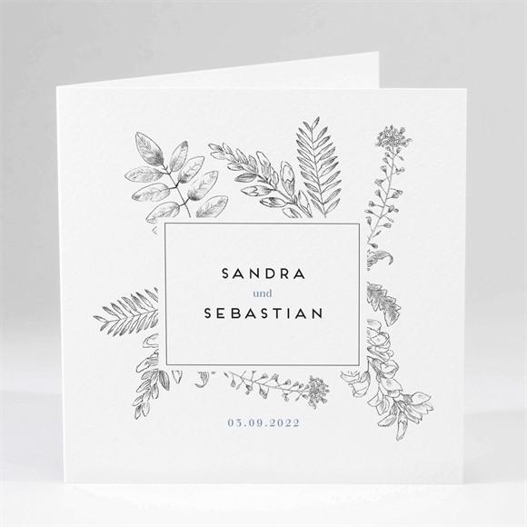 Einladungskarte Hochzeit Herbarium réf.N45192