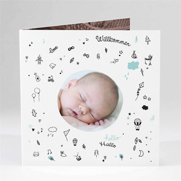 Geburtskarte Eine kleine Nachtmusik réf.N451105