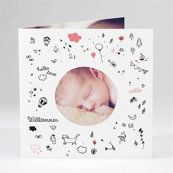Geburtskarte Träume réf.N451106