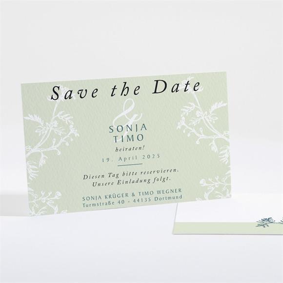 Save the Date Hochzeit Greenery réf.N16121