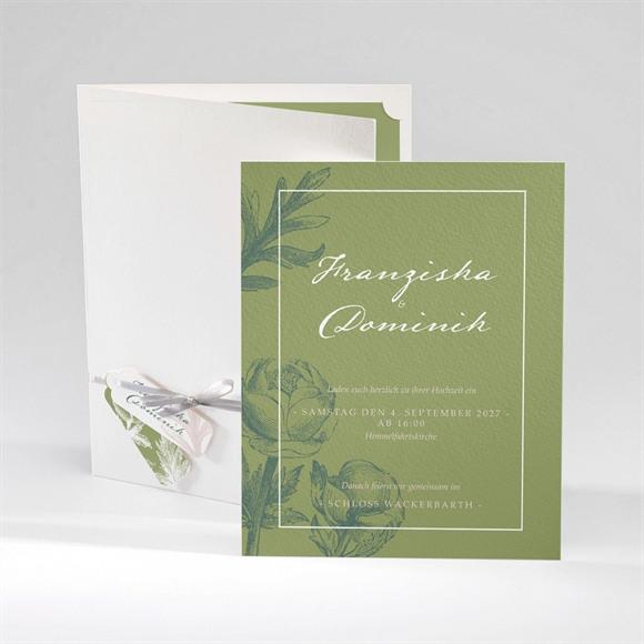 Klappkarte Hochzeitseinladung N92040