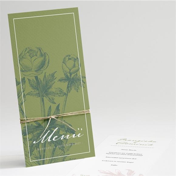 Menü Hochzeit Englischer Garten réf.N22154