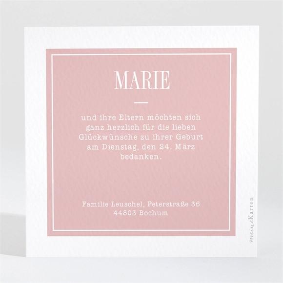 Danksagungskarte Geburt Das kleine Wunder réf.N3001467