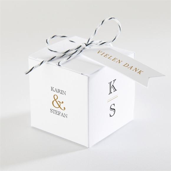 Zuckermandel Schachtel Hochzeit Eng verbunden réf.N340149