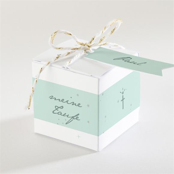 Zuckermandel Schachtel (Taufe) Blaues Licht réf.N340152