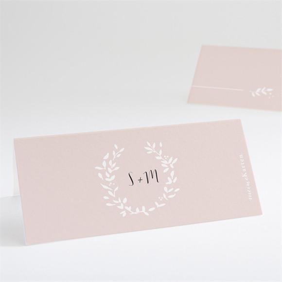 Tischkarte Hochzeit Reine Eleganz réf.N440695