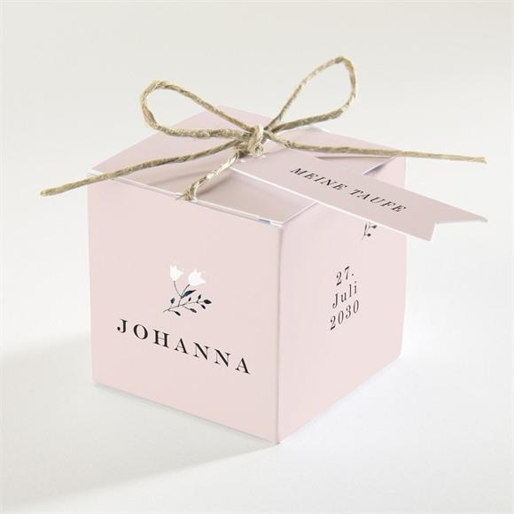 Zuckermandel Schachtel (Taufe) Ring der Natur Rosa réf.N340164