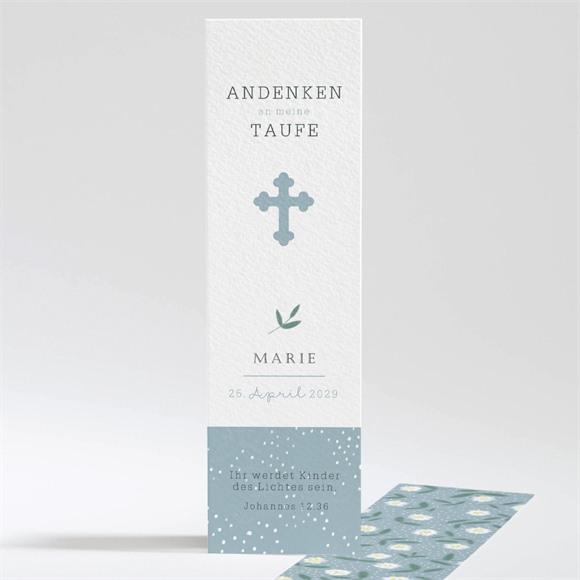 Lesezeichen Taufe Gänseblümchen réf.N20143
