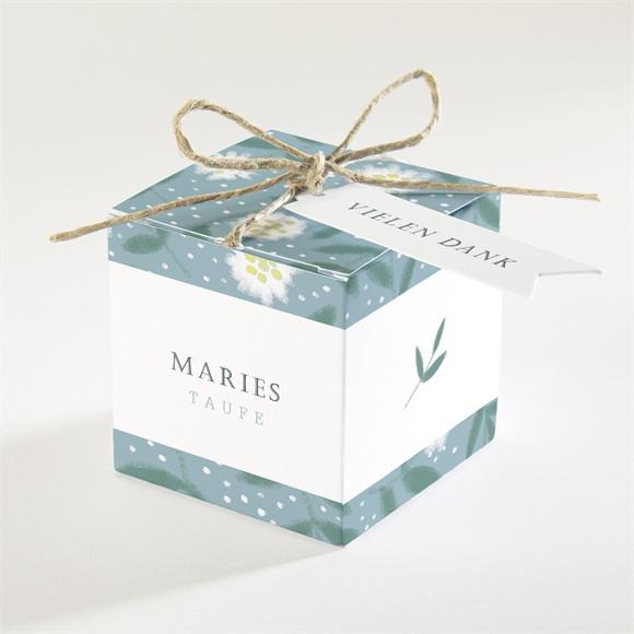 Zuckermandel Schachtel (Taufe) Gänseblümchen réf.N340168