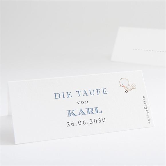 Tischkarte Taufe Zarte Illustration réf.N440712