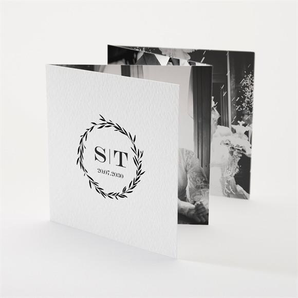 Danksagungskarte Hochzeit Retro Chic réf.N83116