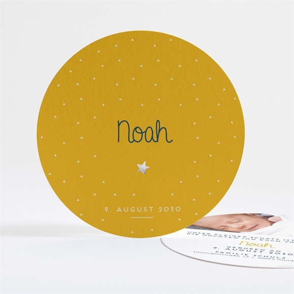 Geburtskarte Kleiner Stern réf.N321122