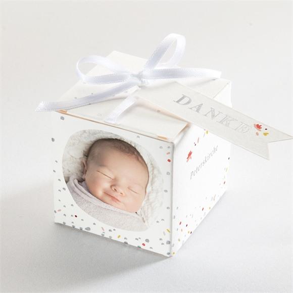 Zuckermandel Schachtel (Taufe) Blühendes Glück réf.N340187