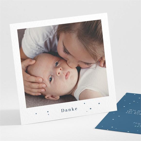 Danksagungskarte Geburt Elegant réf.N30195