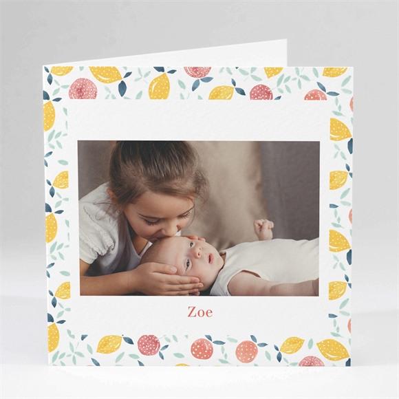 Geburtskarte Zitrusfreude réf.N451145