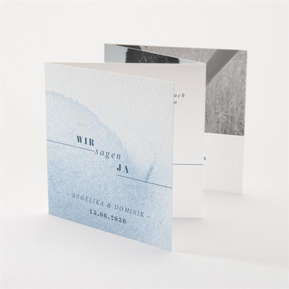 Einladungskarte Hochzeit Das Blaue vom Himmel réf.N83121
