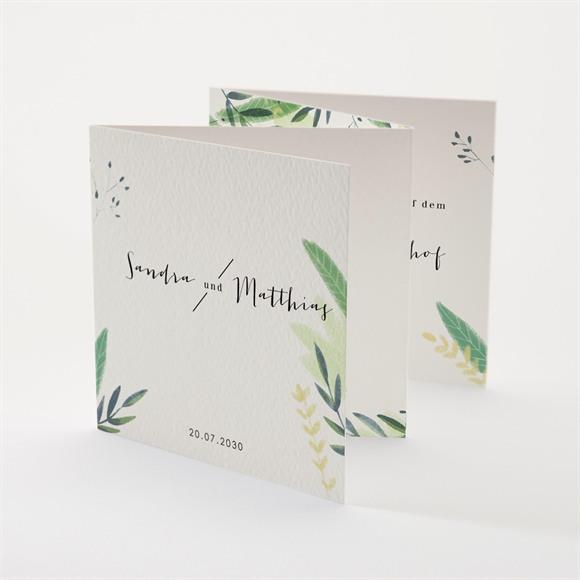 Einladungskarte Hochzeit Sommerwiese réf.N83122