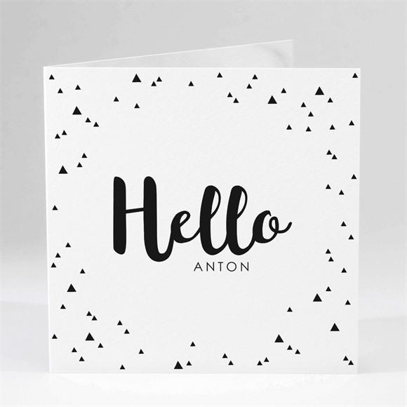 Geburtskarte Hello réf.N451146