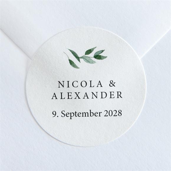 Aufkleber Hochzeit Unter dem Olivenbaum réf.N36006