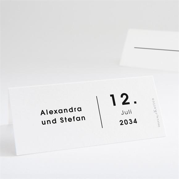 Tischkarte Hochzeit Blick in die Ferne réf.N440722