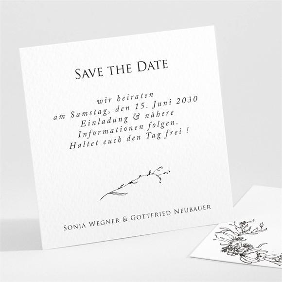 Save the Date Hochzeit Unsere Hochzeit réf.N301100