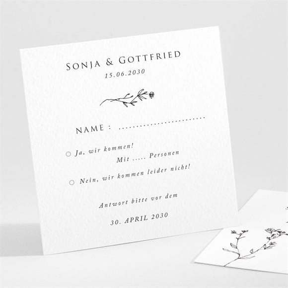 Antwortkarte Hochzeit Unsere Hochzeit réf.N301101