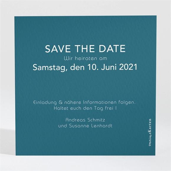 Save the Date Hochzeit Tiefes Blau réf.N3001552