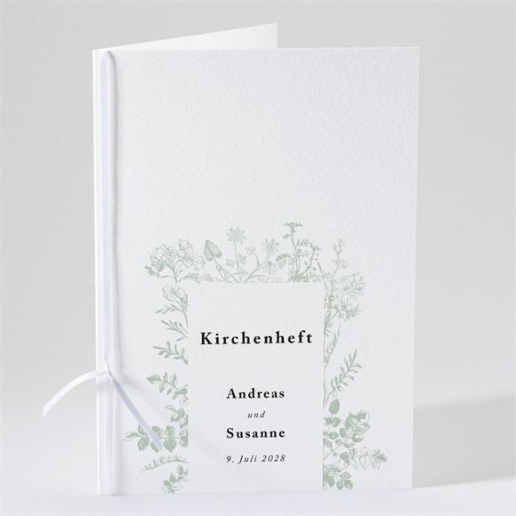 Kirchenheft Hochzeit Farn réf.N491120