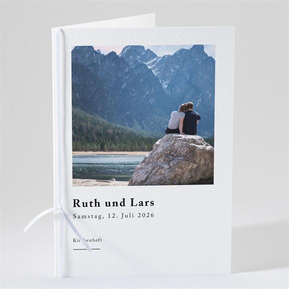 Kirchenheft Hochzeit Liebe im Rahmen réf.N491116