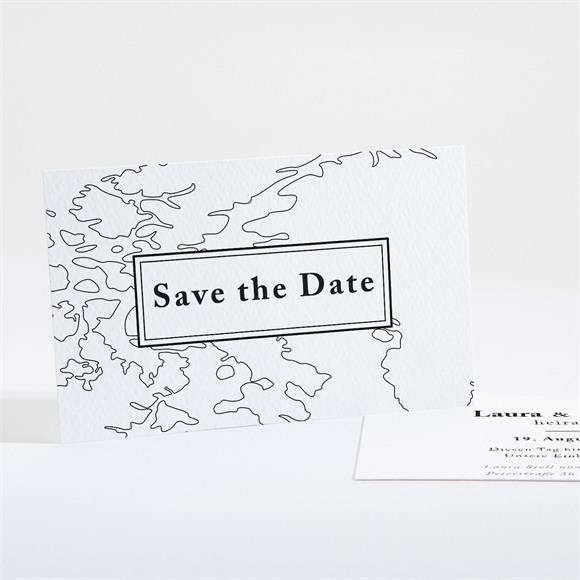 Save the Date Hochzeit Die weite Welt réf.N16153