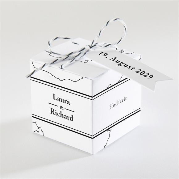 Zuckermandel Schachtel Hochzeit Die weite Welt réf.N340217