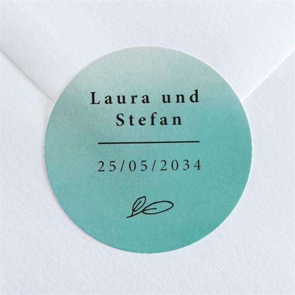 Aufkleber Hochzeit Lagune réf.N36017