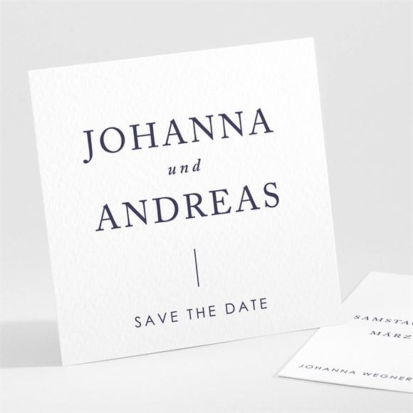 Save the Date Hochzeit Design Pur réf.N301119