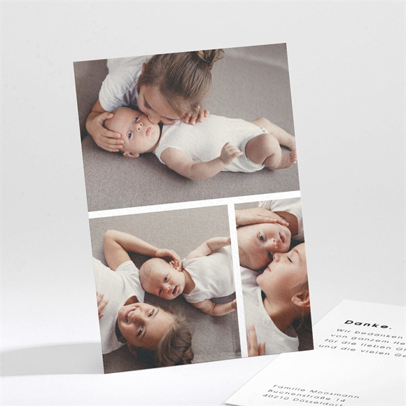 Danksagungskarte Geburt Freude réf.N211221