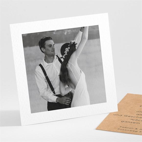 Danksagungskarte Hochzeit Love first réf.N301128