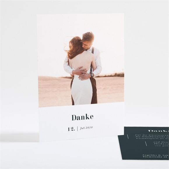 Danksagungskarte Hochzeit Forever réf.N25103