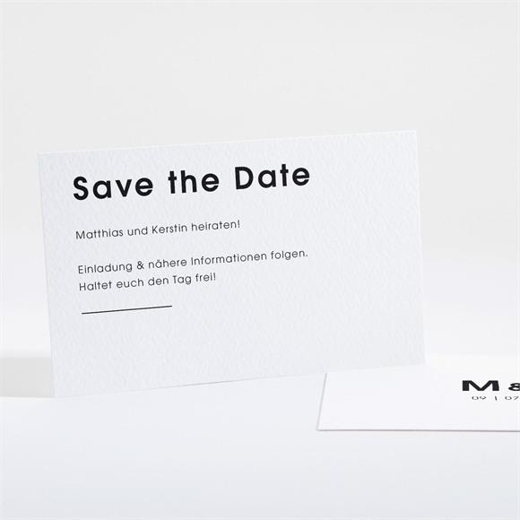 Save the Date Hochzeit Pure Design réf.N16166