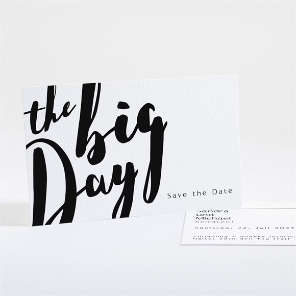 Save the Date Hochzeit Lettering réf.N16168