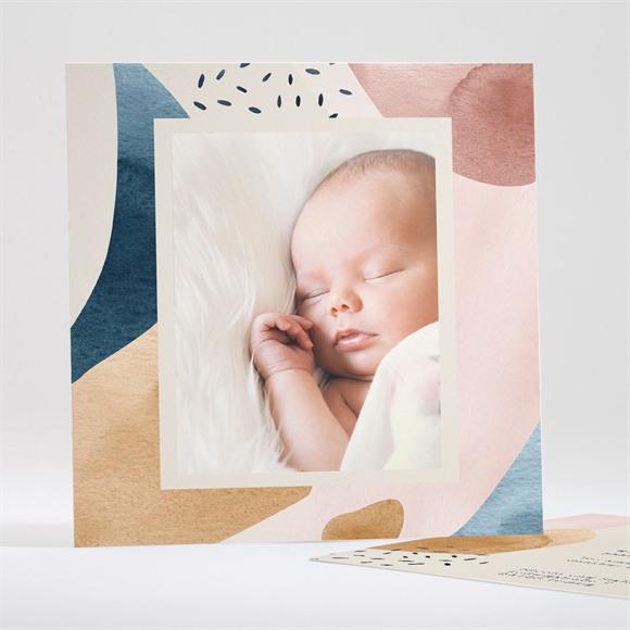 Geburtskarte Modernes Patchwork réf.N35126