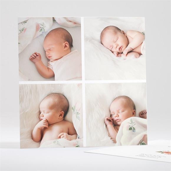 Geburtskarte 4 Fotos réf.N35128