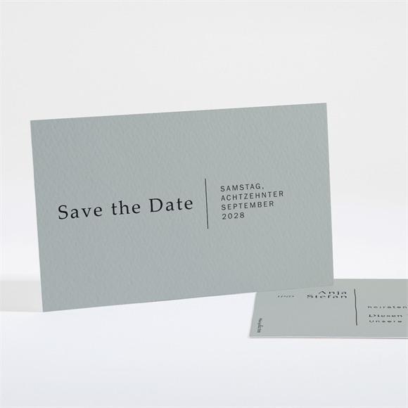 Save the Date Hochzeit Lorbeergrün réf.N16175