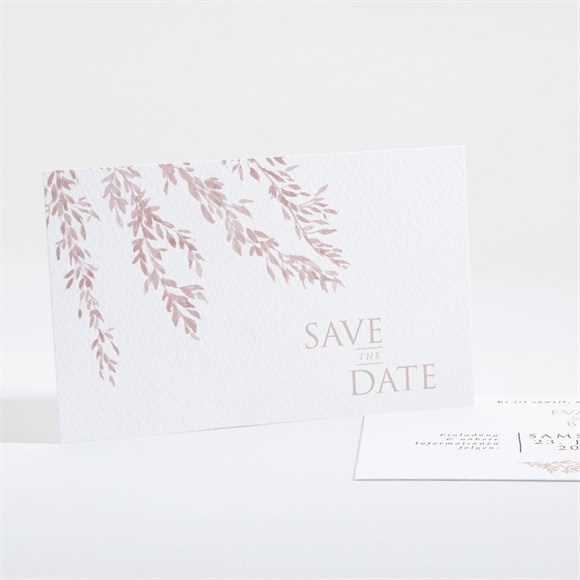 Save the Date Hochzeit Goldene Weide réf.N16172