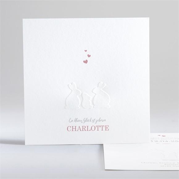 Geburtskarte Silhouetten réf.N35180