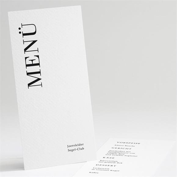 Menü Hochzeit Moderne Grafie réf.N221127