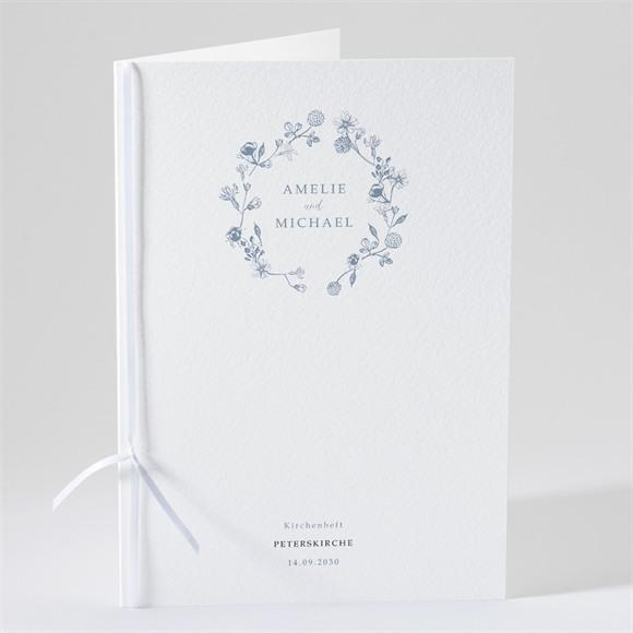 Kirchenheft Hochzeit Blumengesteck réf.N491158