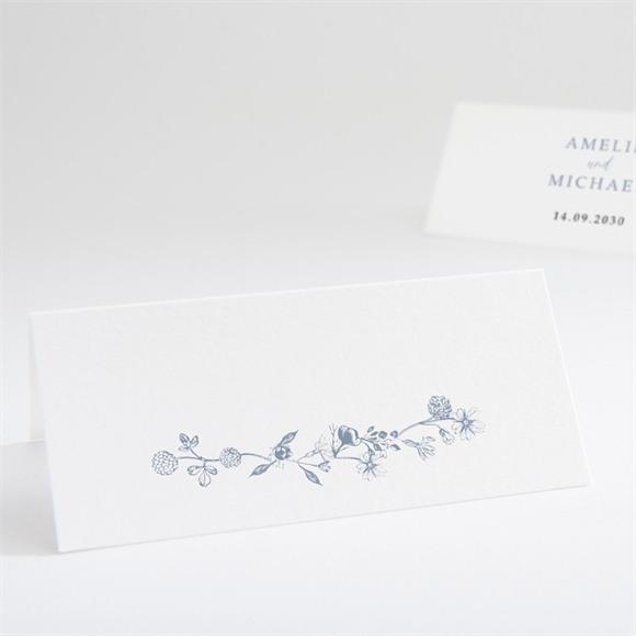 Tischkarte Hochzeit Blumengesteck réf.N440736