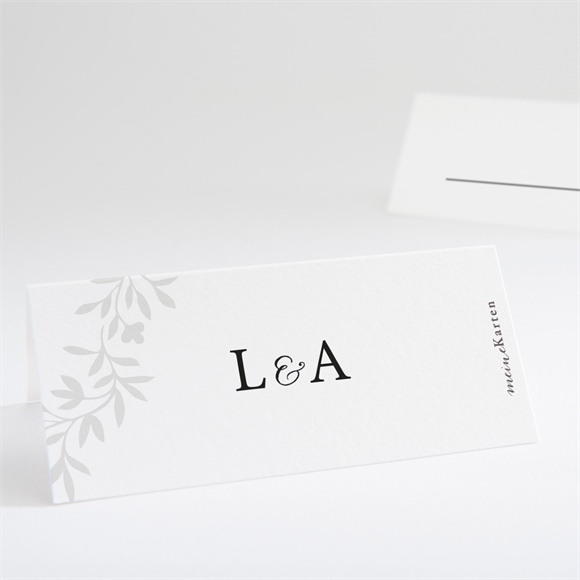 Tischkarte Hochzeit Herrlich réf.N440750
