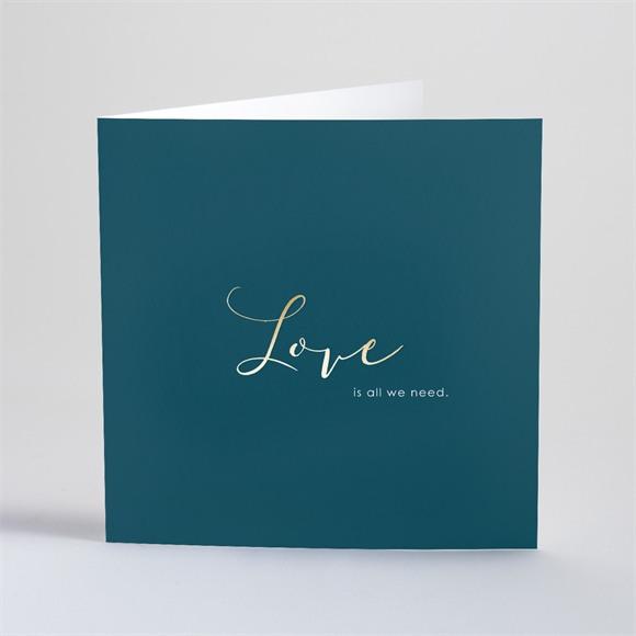 Einladungskarte Hochzeit Love is all réf.N46137