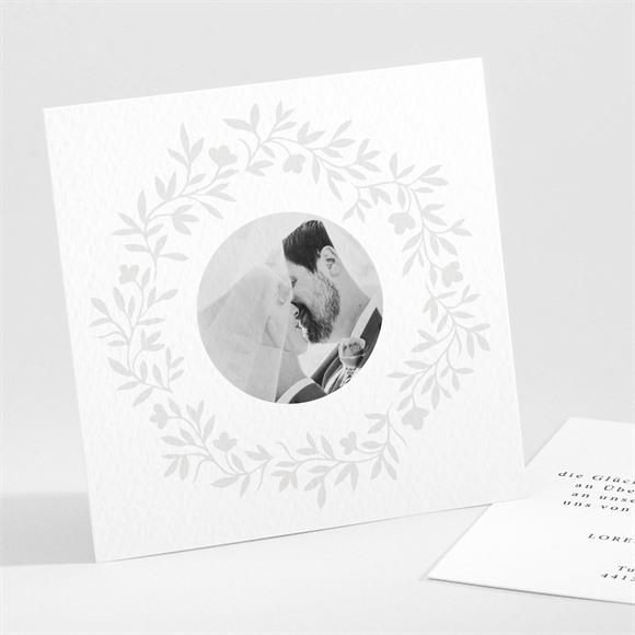 Danksagungskarte Hochzeit Herrlich réf.N301190